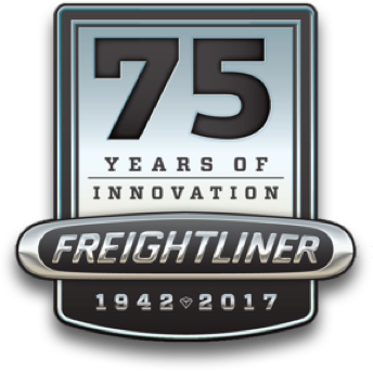 Freighliner 75 Years Logo